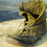 This is an old boot.  Not quite the boot I was looking for.